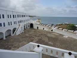 cape coast castle in Ghana