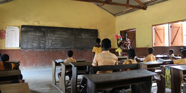 Teaching Volunteer Project in Ghana