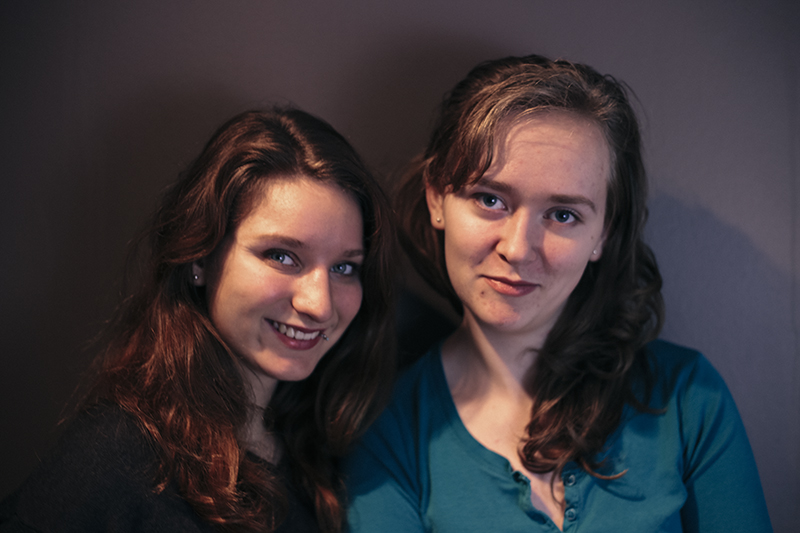 Anastazja Fedorowicz and Karolina Kedzior HAF Media & Video Editor/Volunteer