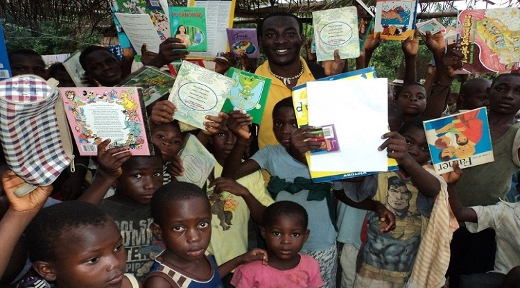 Children needing education in rural villages in Ghana.
