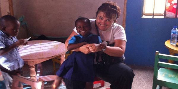 Orphanage and Childcare volunteer project in Ghana.