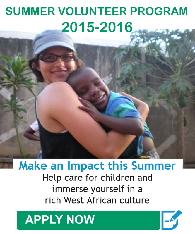 Summer Volunteer Abroad Program in Ghana.
